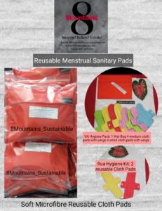 Reusable Menstrual Sanitary Pads